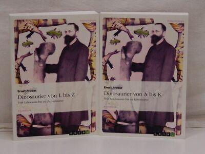 Probst : Dinosaurier von A bis K / Dinosaurier von L bis Z (2 Bände = vollst.) (Dinosaurier Von A Bis Z)