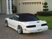 NISSAN 240sx CONVERTIBLE TOP WITH FRAME AND WINDOW