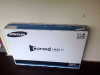 "Samsung Smart TV UE55JU6510 55"" Curved HDR 2160p 4K UHD LED LCD"