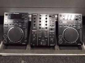 Pioneer CDJ-350, DJM-350 + Pioneer Flight Case