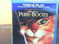 PUSS IN BOOTS BLU RAY