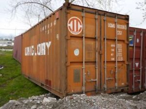 Steel Sea Can Shipping storage containers - Special on 40' & 20'