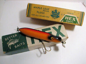 WANTED VINTAGE FISHING LURES MADE IN PETERBOROUGH $$$ Peterborough Peterborough Area image 4