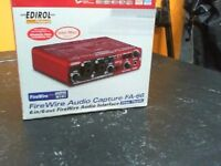 EDIROL FIREWIRE AUDIO CAPTURE FA-66