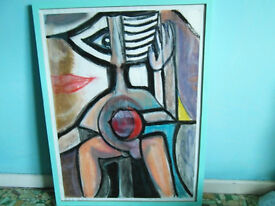 ABSTRACT PAINTING NORTHERN ARTIST