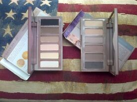 2x Urban Decay palettes: Naked Basics 1 and 2