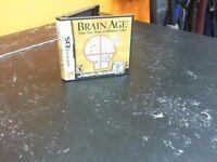 BRAIN AGE - NINTENDO DS GAME