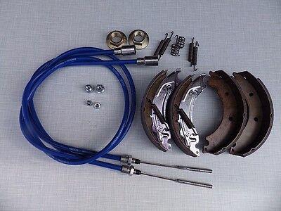 Knott 200x50 Bremsbacken Rep Set 20-2425/1 mit Niro/VASeilen HL1030 M24 Muttern