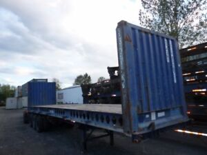 Flat Rack/Steel Container Bridge 20' & 40 ft