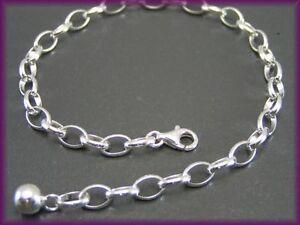 Bettelarmband Echt 925 Silber Charmarmband