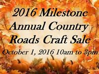 Milestone Annual Country Roads Craft Sale