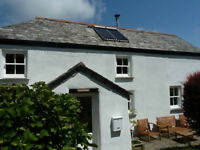 Crackington Haven - Holiday Cottage with Large Garden and Stunning Countryside Views