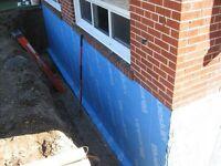 Waterproofing/ Wet basement