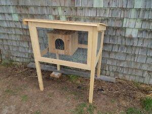 Rabbit Hutch, Cage -- $125.00
