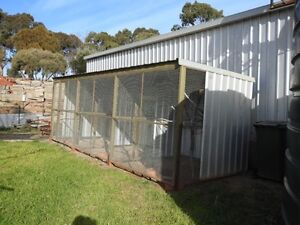 "BIRD AVAIRY 18FT LONG X 6'3"" TALL X 6'8"" TALL Huntfield Heights Morphett Vale Area Preview"