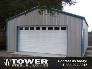 Steel Building for garages, storage buildings, work shops