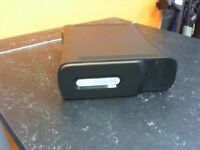 XBOX 360 ELITE WITH CABLES AND 1 CONTROLLER
