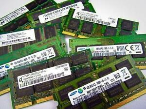LAPTOP MEMORY RAM DDR2 AND DDR3