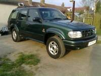 Ford Explorer North Face Wanted