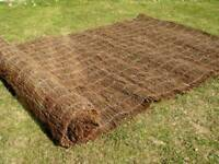 Wanted Garden brushwood seagrass bamboo ivy or the like screen screening for projrct