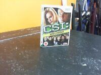 CSI HARD EVIDENCE - WII GAME