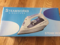 STEAM IRON New Condition