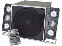 Logitech X4 2:1 speakers , brilliant little no fuss setup