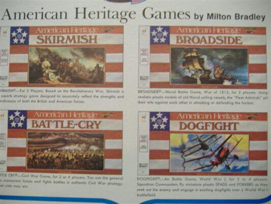American Heritage Game Parts