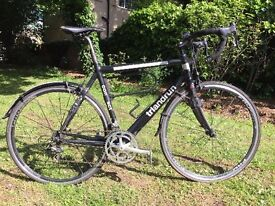 Triandrun Road Bike with Campagnolo Groupset with carbon front and rear stays