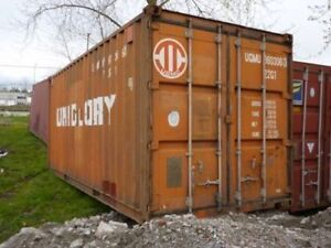 40' & 20' Steel Shipping Containers