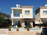 SELLER FINANCE- 3 Bedroom villa Paphos Cyprus- NO MORTGAGE NEEDED
