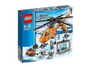 WANTED BRAND NEW Sealed Lego Arctic Helicrane 60034