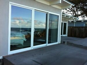 Sliding glass doors 12 ft in vinyl windows doors trim for Sliding glass doors 9ft