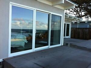 NEW 12 ft vinyl sliding door