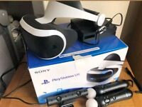 Playstation PS4 VR BUNDLE(Virtual Reality) QUICK SALE