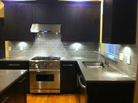 Liquidation  -  Black Shaker Cabinets - Kitchen - Vanity