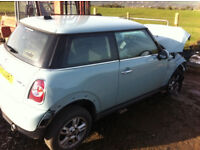 MINI ONE 1.6 DIESEL 2012 FOR PARTS!