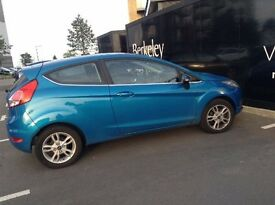 Candy Blue Ford Fiesta Zetec. Moved to Australia, looking to sell in Gravesend, minimal miles.