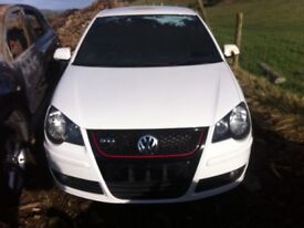 Volkswagen Polo 1.8 20v Turbo 2008 for parts!