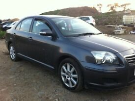 Toyota Avensis 2.0 D4D 2007 for parts!