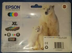 Epson multipack 26xl printer ink