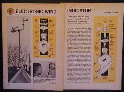 Electronic Wind Direction Indicator How-To build PLANS