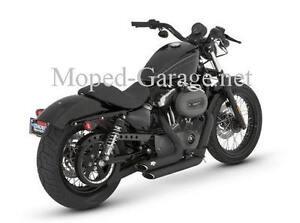 Harley Vance & Hines Shortshots Auspuff Anlage Sportster Sporty XL Black Neu *