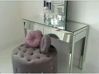 House of Frazers Mirrored dressing table & Mirrored dressing table mirror