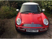 MINI COOPER 1.6 FACE LIFT 04 2004 3 SPOKE SPARES AND REPAIR STARTS AND DRIVES 2ND GEAR NOT WORKING