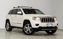 2012 Jeep Grand Cherokee WK MY2012 Overland White 5 Speed Sports Automatic Wagon Edgewater Joondalup Area Preview