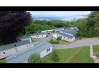 New double glazed and central heated caravan including all 2017 site fees in west Wales