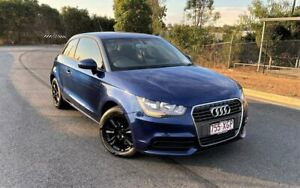 2012 Audi A1 8X MY12 Attraction S Tronic Blue 7 Speed Sports Automatic Dual Clutch Hatchback Darra Brisbane South West Preview