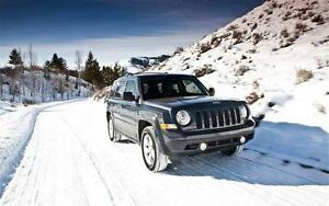Jeep Patriot 2007-2016 Snow Tire Packages - P215/70/16 or P215/60/17 Winter Tires Installed and Balanced