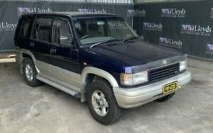 1995 Holden Jackaroo SE Blue Manual 4-Door Wagon Carrara Gold Coast City Preview